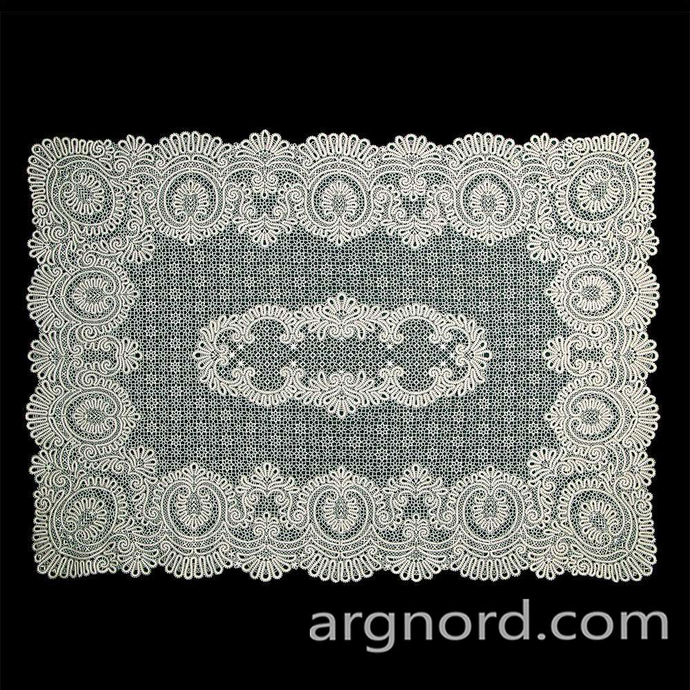 Russian lace tablecloth