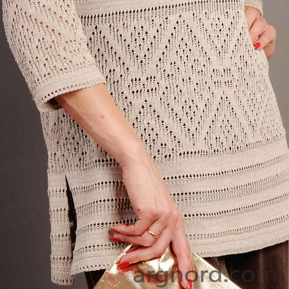 Sweater with long sleeves | 13046