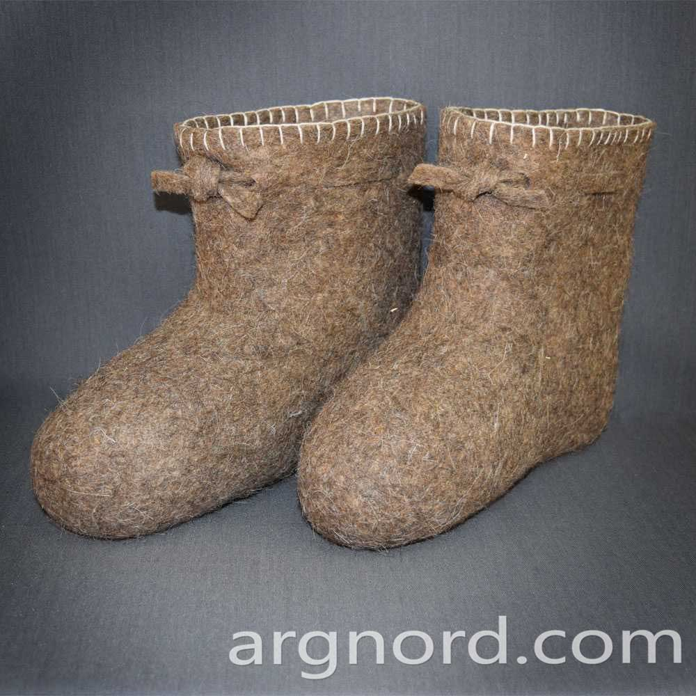 Russian Winter Valenki Snow Boots 100% sheep's wool